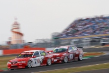 Silverstone Classic 20-22 July 2018At the Home of British MotorsportJason Hughes, Vauxhall Vectra Free for editorial use onlyPhoto credit – JEP