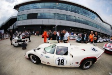 Silverstone Classic 20-22 July 2018At the Home of British Motorsport18 Mark Dwyer/James Brashaw, Lola T70 Mk3BFree for editorial use onlyPhoto credit – JEP