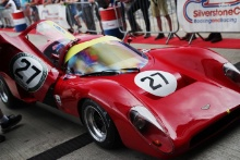 Silverstone Classic 20-22 July 2018At the Home of British Motorsport27 John Sheldon, Chevron B16Free for editorial use onlyPhoto credit – JEP