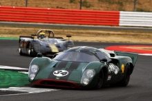 Silverstone Classic 20-22 July 2018At the Home of British Motorsport34 David Hart/Nicky Pastorelli, Lola T70 Mk3BFree for editorial use onlyPhoto credit – JEP