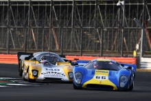Silverstone Classic 20-22 July 2018At the Home of British Motorsport66 Mike Donovan, Lola T70 Mk3BFree for editorial use onlyPhoto credit – JEP