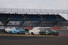 Silverstone Classic 20-22 July 2018At the Home of British Motorsport43 Chris Middlehurst, Morris Mini Cooper SFree for editorial use onlyPhoto credit – JEP