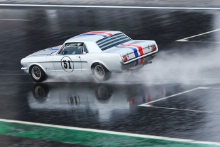 Silverstone Classic 20-22 July 2018At the Home of British Motorsport51 Nicholas King, Ford MustangFree for editorial use onlyPhoto credit – JEP