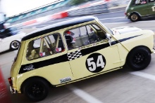 Silverstone Classic 20-22 July 2018At the Home of British Motorsport54 Billy Nairn/Carl Nairn, Austin Mini Cooper SFree for editorial use onlyPhoto credit – JEP