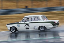 Silverstone Classic 20-22 July 2018At the Home of British Motorsport Lund/Berg Lotus CortinaFree for editorial use onlyPhoto credit – JEP