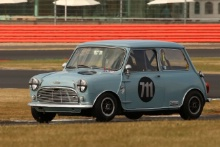 Silverstone Classic 20-22 July 2018At the Home of British Motorsport711 Dan Lewis/Alistair Camp, Austin Mini Cooper SFree for editorial use onlyPhoto credit – JEP