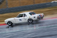 Silverstone Classic 20-22 July 2018At the Home of British Motorsport74 Jon Miles, Ford MustangFree for editorial use onlyPhoto credit – JEP