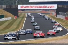 Silverstone Classic 20-22 July 2018At the Home of British MotorsportMorganFree for editorial use onlyPhoto credit – JEP