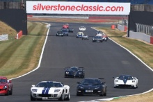 Silverstone Classic 20-22 July 2018At the Home of British MotorsportSupercar Parade Free for editorial use onlyPhoto credit – JEP