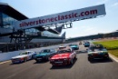 Silverstone Classic (27-29 July 2019) Preview Day,10th April 2019, At the Home of British Motorsport.Ford Capri 50th Anniversary trackingFree for editorial use only. Photo credit - JEP