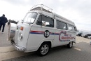 Silverstone Classic (27-29 July 2019) Preview Day,10th April 2019, At the Home of British Motorsport.Silverstone Classic Camper vanFree for editorial use only. Photo credit - JEP