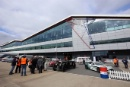Silverstone Classic (27-29 July 2019) Preview Day,10th April 2019, At the Home of British Motorsport.Car Display at the Silverstone Classic Free for editorial use only. Photo credit - JEP