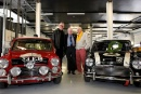 Silverstone Classic (27-29 July 2019) Preview Day,. 10th April 2019, At the Home of British Motorsport. Steve Neal, Paddy Hopkirk and John Rhodes . Free for editorial use only. Photo credit - JEP
