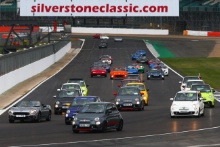 Silverstone Classic 2019Abarth ParadeAt the Home of British Motorsport. 26-28 July 2019Free for editorial use only Photo credit – JEP