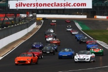 Silverstone Classic 2019Mazda ParadeAt the Home of British Motorsport. 26-28 July 2019Free for editorial use only Photo credit – JEP