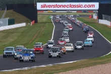 Silverstone Classic 2019Mini ParadeAt the Home of British Motorsport. 26-28 July 2019Free for editorial use only Photo credit – JEP