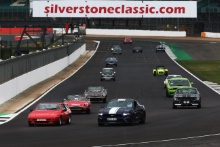 Silverstone Classic 2019Mustang ParadeAt the Home of British Motorsport. 26-28 July 2019Free for editorial use only Photo credit – JEP