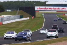 Silverstone Classic 2019Tesla ParadeAt the Home of British Motorsport. 26-28 July 2019Free for editorial use only Photo credit – JEP