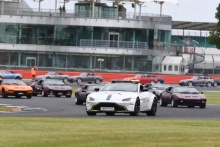 Silverstone Classic 2019Saftey CarAt the Home of British Motorsport. 26-28 July 2019Free for editorial use only Photo credit – JEP