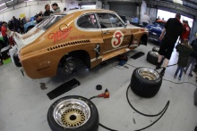 Silverstone Classic 2019Garage AtmosphereAt the Home of British Motorsport. 26-28 July 2019Free for editorial use only Photo credit – JEP