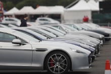 Silverstone Classic 2019Aston MartinsAt the Home of British Motorsport. 26-28 July 2019Free for editorial use only Photo credit – JEP