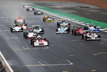Silverstone Classic 2019Race StartAt the Home of British Motorsport. 26-28 July 2019Free for editorial use only Photo credit – JEP