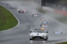 Silverstone Classic 2019Aston Martin Safety CarAt the Home of British Motorsport. 26-28 July 2019Free for editorial use only Photo credit – JEP