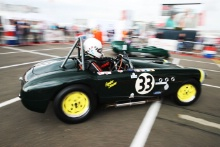 Silverstone Classic 201933 PHILLIPS Chris, GB, PHILLIPS Oliver, GB, Cooper BristolAt the Home of British Motorsport. 26-28 July 2019Free for editorial use only Photo credit – JEP