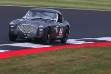 Silverstone Classic 201944 THORNE Mike, GB, BENNETT-BAGGS Sarah, GB, Austin-Healey 100/4At the Home of British Motorsport. 26-28 July 2019Free for editorial use only Photo credit – JEP