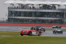 Silverstone Classic 2019450 MORTIMER Paul, GB, MORTIMER Jonathan, GB, Austin-Healey 100MAt the Home of British Motorsport. 26-28 July 2019Free for editorial use only Photo credit – JEP
