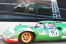 Silverstone Classic 201995 CULVER Gary, GB, Lola T70 Mk3BAt the Home of British Motorsport. 26-28 July 2019Free for editorial use onlyPhoto credit – JEP