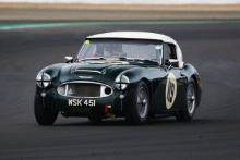 Silverstone Classic 2019119 HUDSON Richard, GB, Austin-Healey 3000 MkIIAt the Home of British Motorsport. 26-28 July 2019Free for editorial use only Photo credit – JEP