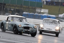 Silverstone Classic 2019133 BELL Alex, GB, THOMAS Julian, GB, Austin-Healey 3000At the Home of British Motorsport. 26-28 July 2019Free for editorial use only Photo credit – JEP