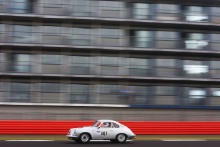 Silverstone Classic 2019141 BURNETT Gareth, GB, Porsche 356 Coupe GTAt the Home of British Motorsport. 26-28 July 2019Free for editorial use only Photo credit – JEP
