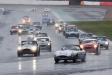 Silverstone Classic 201933 MINSHAW Jon, GB, MINSHAW Jack, GB, Jaguar E-typeAt the Home of British Motorsport. 26-28 July 2019Free for editorial use only Photo credit – JEP