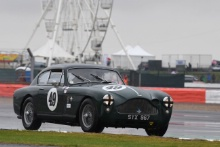Silverstone Classic 201949 WOODGATE Chris, GB, Aston Martin DB MkIIIAt the Home of British Motorsport. 26-28 July 2019Free for editorial use only Photo credit – JEP