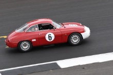 Silverstone Classic 20196 ADELMAN Sharon, US, WILLIS Andy, GB, Alfa Romeo Giulietta SZAt the Home of British Motorsport. 26-28 July 2019Free for editorial use only Photo credit – JEP