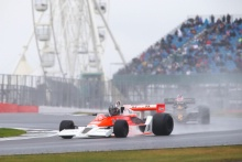 Silverstone Classic 2019Michael LYONS McLaren M26At the Home of British Motorsport. 26-28 July 2019Free for editorial use only Photo credit – JEP