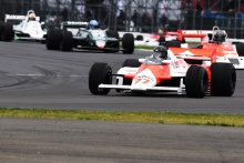 Silverstone Classic 201977 HARTLEY Steve, GB, McLaren MP4/1At the Home of British Motorsport. 26-28 July 2019Free for editorial use only Photo credit – JEP