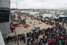 Silverstone Classic 2019Assembly Area At the Home of British Motorsport. 26-28 July 2019Free for editorial use only Photo credit – JEP