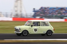 Silverstone Classic 2019151 STAFFORD Elliot, GB, Austin Mini Cooper SAt the Home of British Motorsport. 26-28 July 2019Free for editorial use only Photo credit – JEP