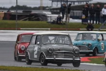 Silverstone Classic 2019Ben SEYFRIED Austin Mini Cooper SAt the Home of British Motorsport. 26-28 July 2019Free for editorial use only Photo credit – JEP