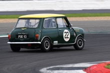 Silverstone Classic 2019Ellie BIRCHENHOUGH Austin Mini Cooper SAt the Home of British Motorsport. 26-28 July 2019Free for editorial use only Photo credit – JEP