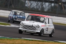 Silverstone Classic 2019Tina COOPER Austin Mini Cooper SAt the Home of British Motorsport. 26-28 July 2019Free for editorial use only Photo credit – JEP