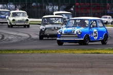 Silverstone Classic 201925 SIME Barry, GB, Morris Mini Cooper SAt the Home of British Motorsport. 26-28 July 2019Free for editorial use only Photo credit – JEP