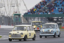 Silverstone Classic 201928 LOW Raymond, GB, Morris Mini Cooper SAt the Home of British Motorsport. 26-28 July 2019Free for editorial use only Photo credit – JEP