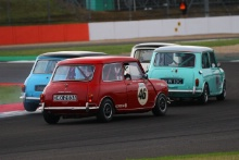 Silverstone Classic 201946 CURLEY Ian, GB, Austin Mini Cooper SAt the Home of British Motorsport. 26-28 July 2019Free for editorial use only Photo credit – JEP