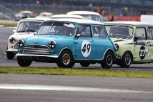 Silverstone Classic 201949 BENGTSSON Bengt-Ake, SE, Morris Mini Cooper SAt the Home of British Motorsport. 26-28 July 2019Free for editorial use only Photo credit – JEP