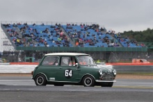 Silverstone Classic 201964 CREWES Peter, GB, Austin Mini Cooper SAt the Home of British Motorsport. 26-28 July 2019Free for editorial use only Photo credit – JEP