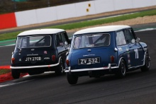 Silverstone Classic 201970 JONES David, GB, Morris Mini Cooper SAt the Home of British Motorsport. 26-28 July 2019Free for editorial use only Photo credit – JEP